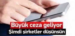 Reklam SMS'lerine ceza yağacak