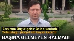 Erzurum Büyükşehir'de neler oluyor!