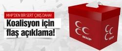 AK Parti ve koalisyon açıklaması!