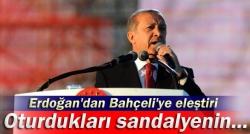 Erdoğan: Siz o aklı kendinize saklayın!