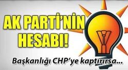 AK Parti'de Meclis Başkanlığı hesapları