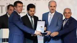 Rıza Sarraf'a ödül açıklaması