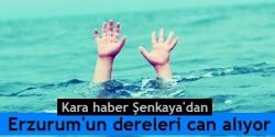 Erzurum'da bir çocuk daha boğuldu!