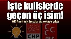 AK Parti MHP'ye güveniyor