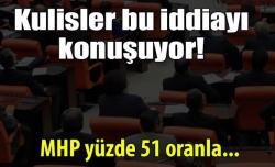 Yüzde 51 MHP diyor