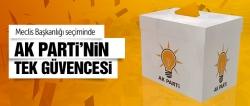 AK Parti'nin tek güvencesi...