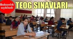 Milli Eğitim Bakanlığı'ndan TEOG açıklaması!