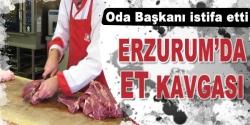 Erzurum'da kasapların et kavgası!
