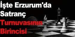 Erzurum'da satranç turnuvası!