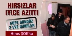 Erzurum'da çifte soygun