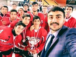 Buzda şampiyon Erzurum Gençlik!