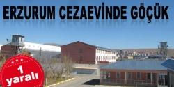 Erzurum Cezaevinde göçük!