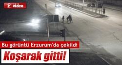 Kız öğrencinin yaralandığı kaza kamerada!