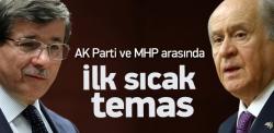 AK Parti ile MHP arasında ilk sıcak temas!