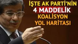 AK Parti'nin 4 Maddelik Yol Haritası