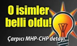MHP ve CHP heyetlerinde kimler var?