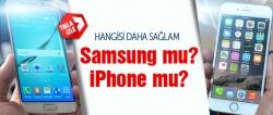 Hangi telefon daha sağlam?