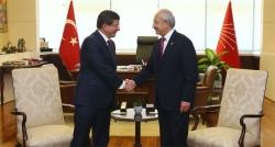 Davutoğlu Kılıçdaroğlu görüşmesi sona erdi!