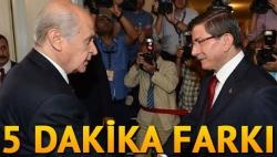 AK Parti-MHP görüşmesi erken başladı