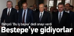 MHP'liler Beştepe'ye gidiyor