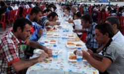 Erzurum'da korucularla iftar!