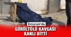 Erzurum'da gürültü kavgası!