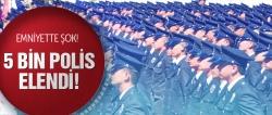 Terfi sınavında 5 bin polis elendi!