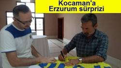 Kocaman'ı Erzurum'da mutlu etti!
