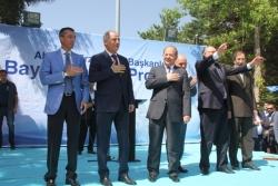 AK Parti Erzurum'da bayramlaştı!