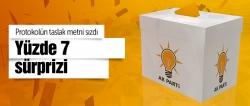AK Parti'den yüzde 7 hamlesi!