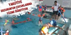 Yakutiye Erzurum'un çocuklarını yüzdürüyor
