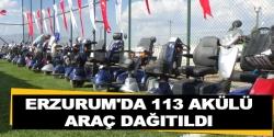 113 engelliye Erzurum'da akülü araç dağıtıldı