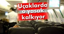 Uçaklarda cep telefonu izni!