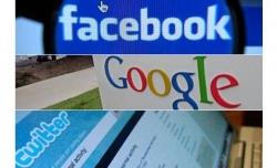 Twitter, Facebook ve Google yavaşladı!