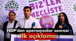HDP'den hükümete kritik çağrı