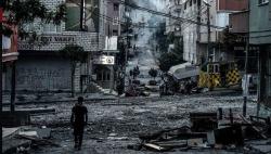 Gazi Mahallesi'nde cenaze için anlaşma