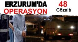 Erzurum'da YDG/H'ye operasyon!