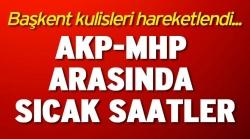 AKP-MHP koalisyonu mu filizleniyor