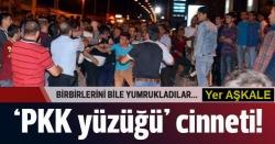 Erzurum'da 'PKK yüzüğü' gerilimi!