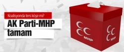 AK Parti MHP koalisyonu tamam!