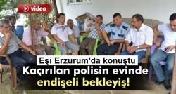 Kaçırılan polisin evinde endişeli bekleyiş!