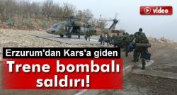 PKK'dan trene bombalı saldırı: 1 ölü!