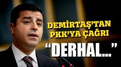 Demirtaş'tan son dakika açıklaması!
