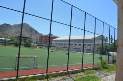 Erzurum'a yedi tane çim futbol sahası