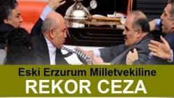 Parmak kıran AK Partili vekile ceza!