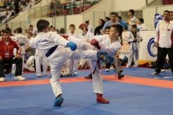 Erzurum'da karate turnuvası başladı