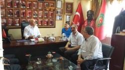 Başkan Sekmen'den gazilere ziyaret