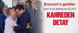 Şehit Polise Erzurum'da tören