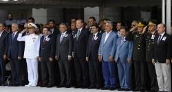 Erdoğan şehit için düzenlenen törene katıldı