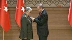 Madalya töreninde konuştu